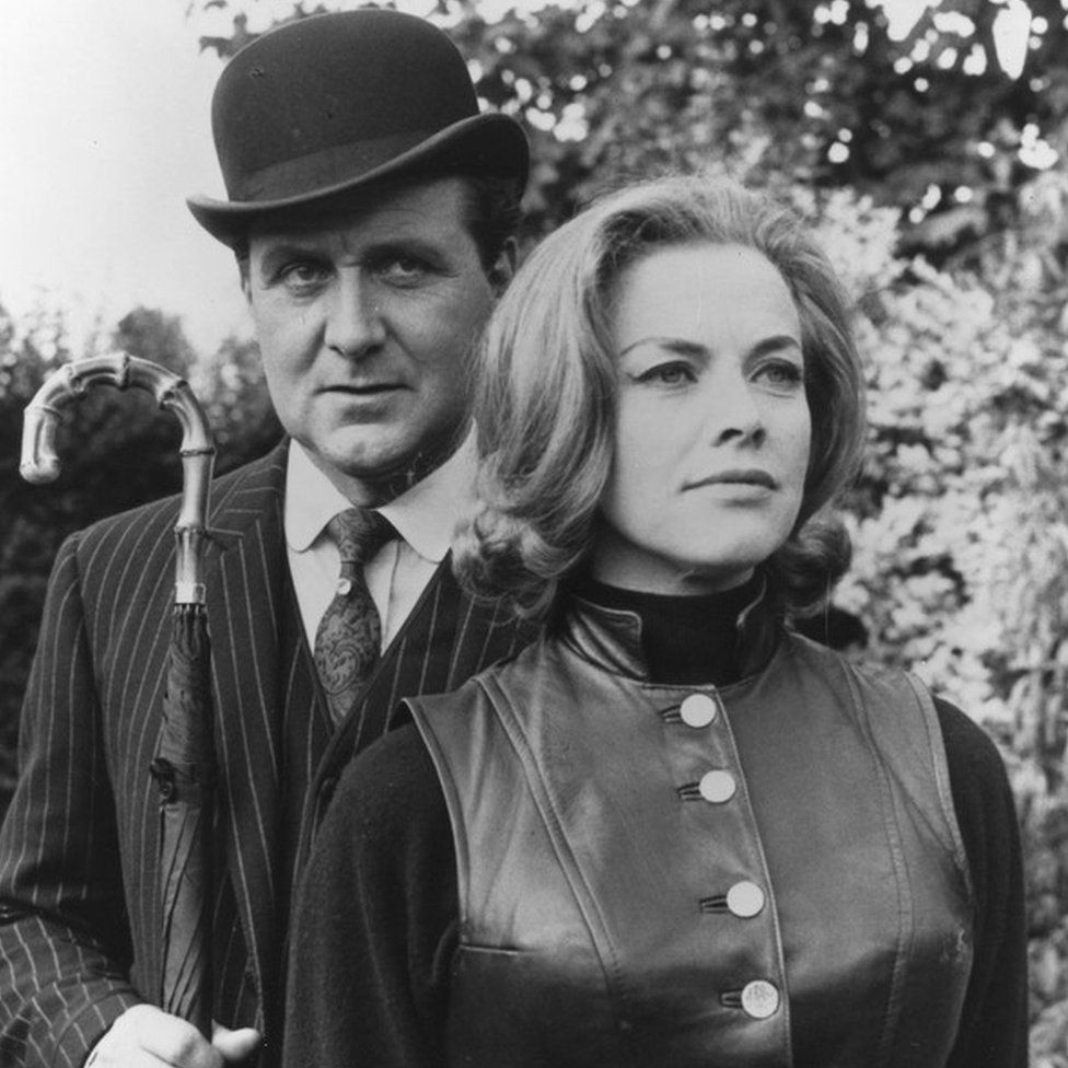 Patrick Macnee & Honor Blackman in The Avengers