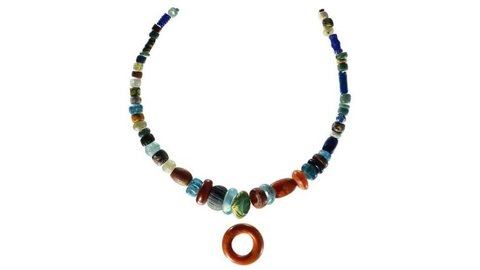 Pagan Lady's necklace