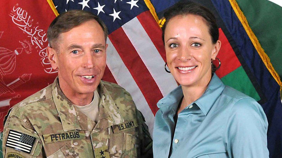 Petraeus handed over classified information to his mistress, Paula Broadwell
