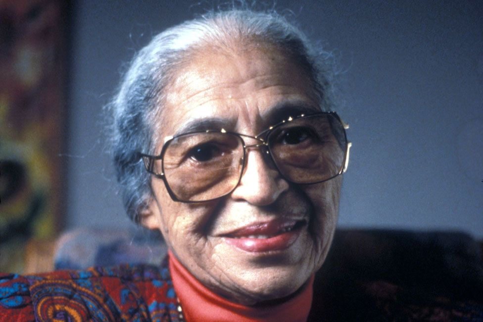 Rosa Parks in 1997