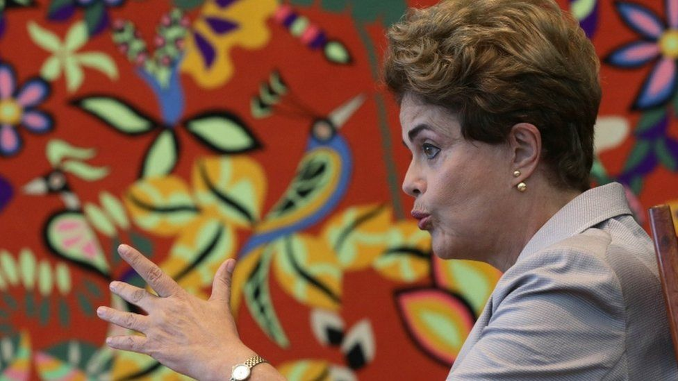 Dilma Rousseff in interview with foreign journalists, 14 June 16