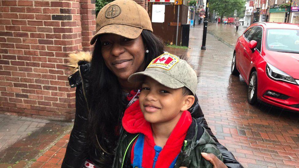 Anne and son Jordan