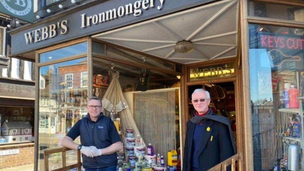 Webb's Ironmongery Store