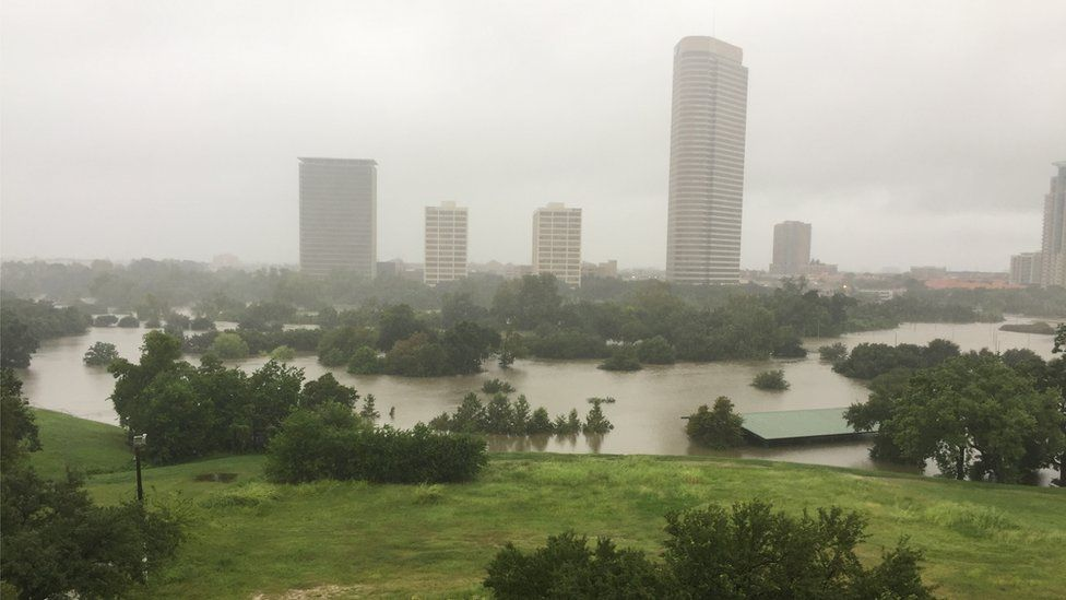 Flooded Spotts Park