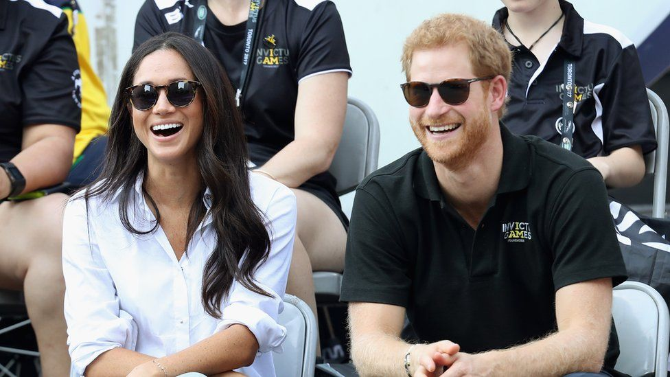 The Duke and Duchess of Sussex in Toronto