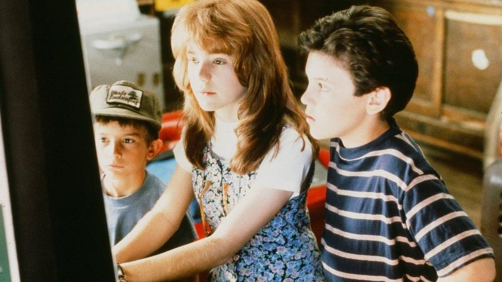 Jenny Lewis with Fred Savage in The Wizard