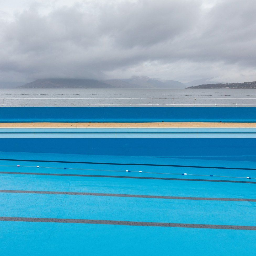 Gourock Outdoor Pool, Inverclyde, Scotland