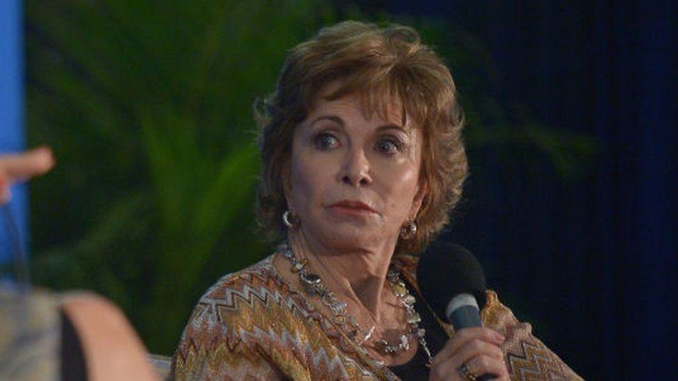 Chilean writer Isabel Allende