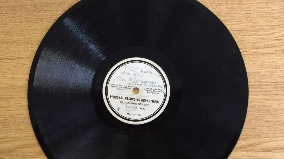 Beatles' first record