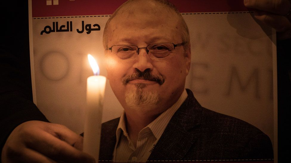Candlelit vigil to Jamal Khashoggi