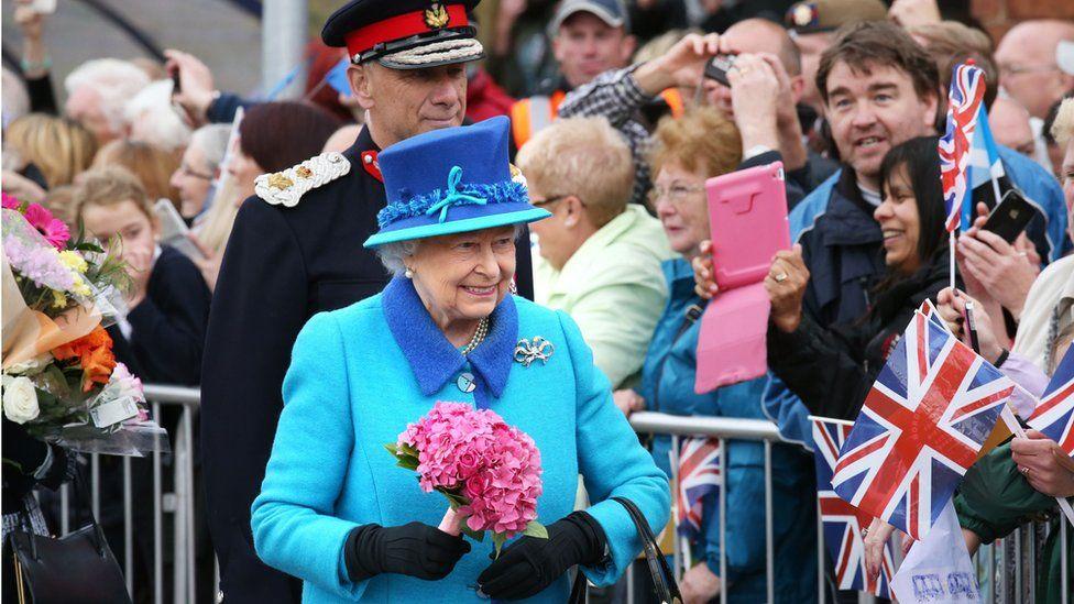 Queen in Newtongrange