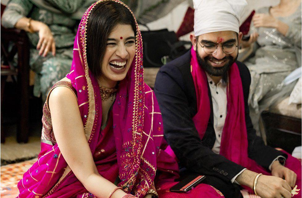 Nitin and Chaitali's wedding