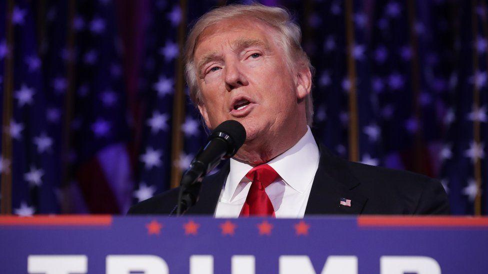Republican president-elect Donald Trump