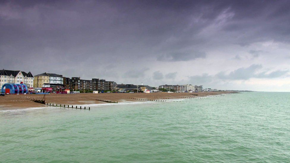 A seaside view in Bognor Regis