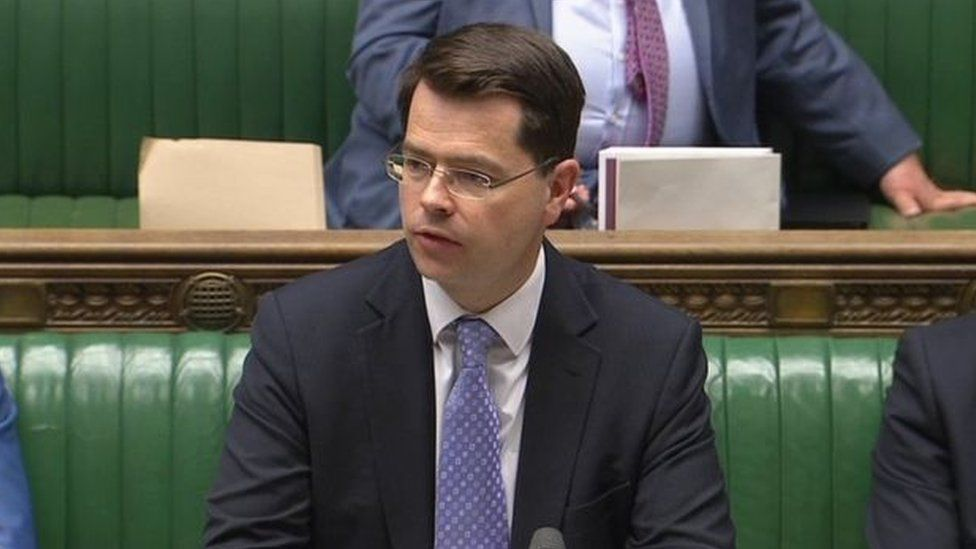 James Brokenshire in House of Commons