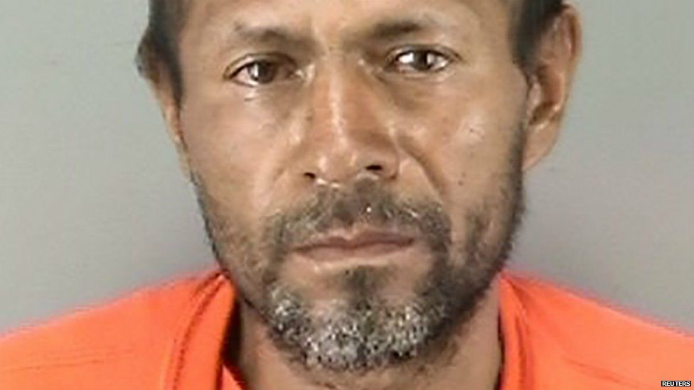 Francisco Sanchez in a photograph released by the San Francisco Police Department - 5 July 2015