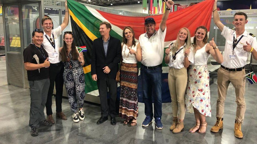South African teens fly from Cape to Cairo in homemade plane