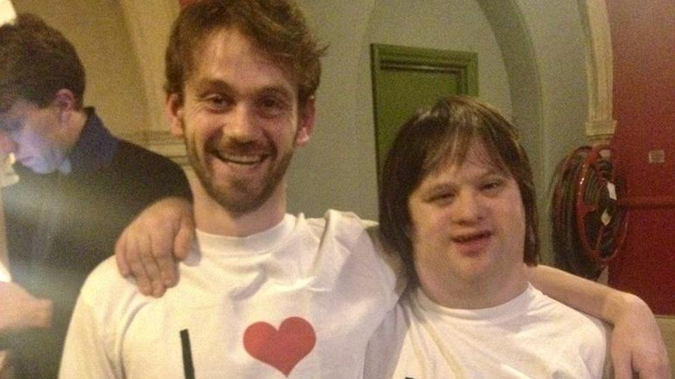 Down's syndrome: 'Having a job makes me feel safe' thumbnail