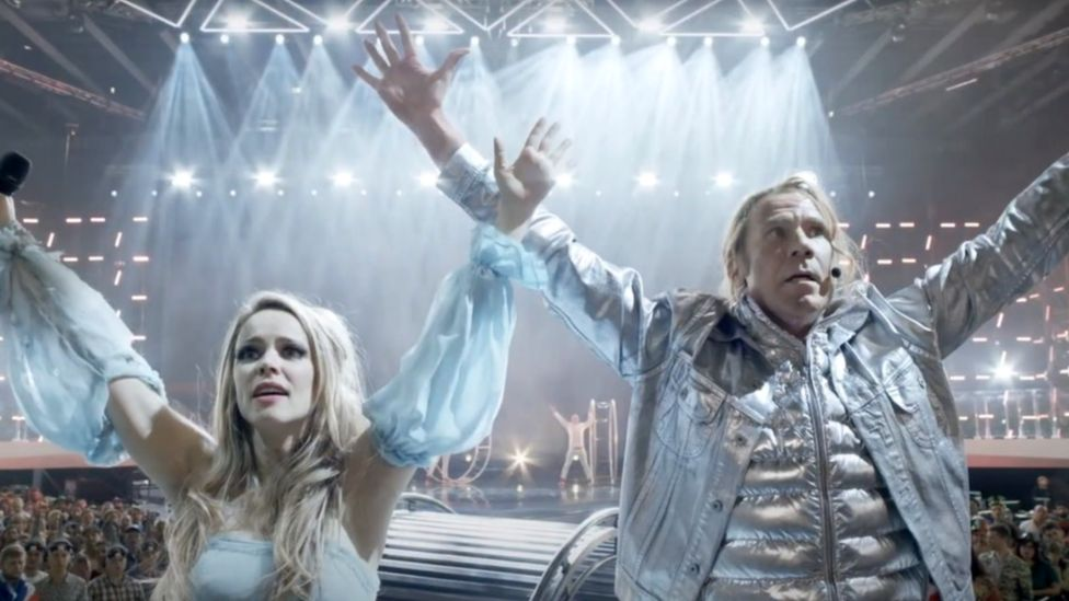 Will Ferrell and Rachel McAdams in Eurovision: The Story of Fire Saga