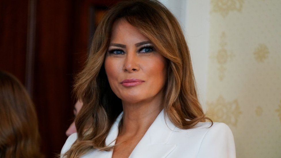 Melania Trump The Unusual Traditional First Lady Bbc News