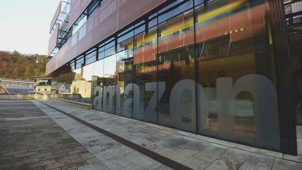 Amazon's offices in Clausen Valley, where several tech giants have their bases in Luxembourg