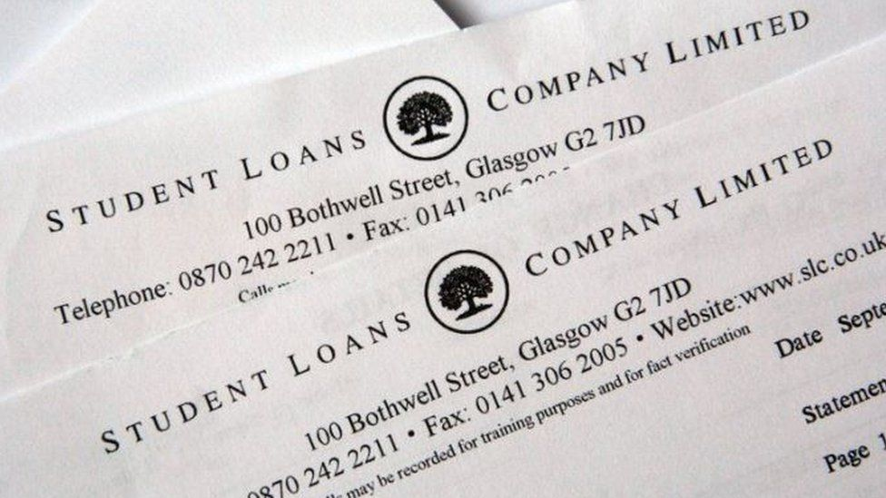 Student loan papers - genericimage