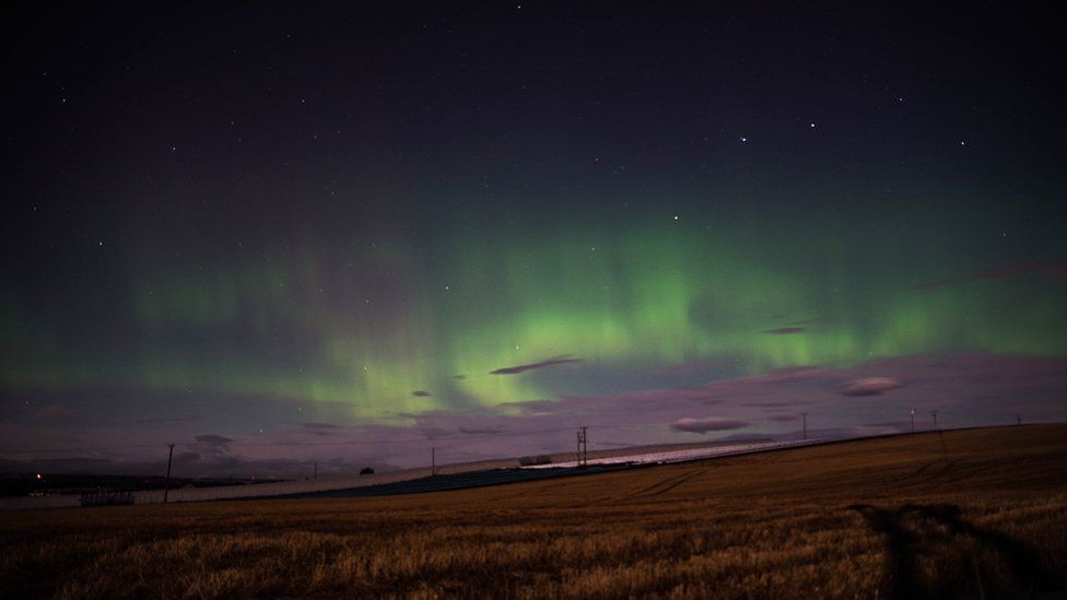 Jason Gabriel took this from Auchmithie in Angus