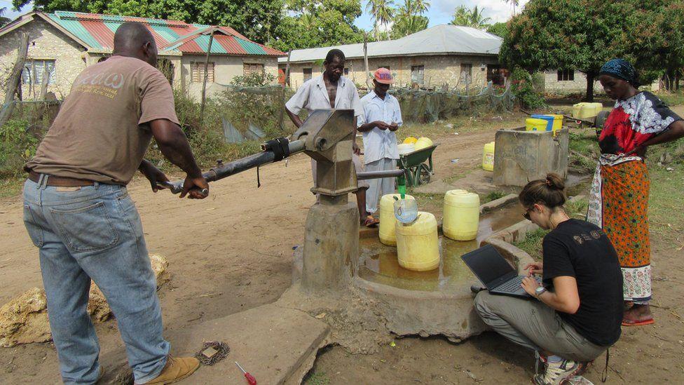 water pump data