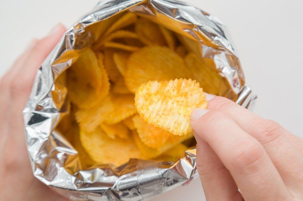 crisps, bag of