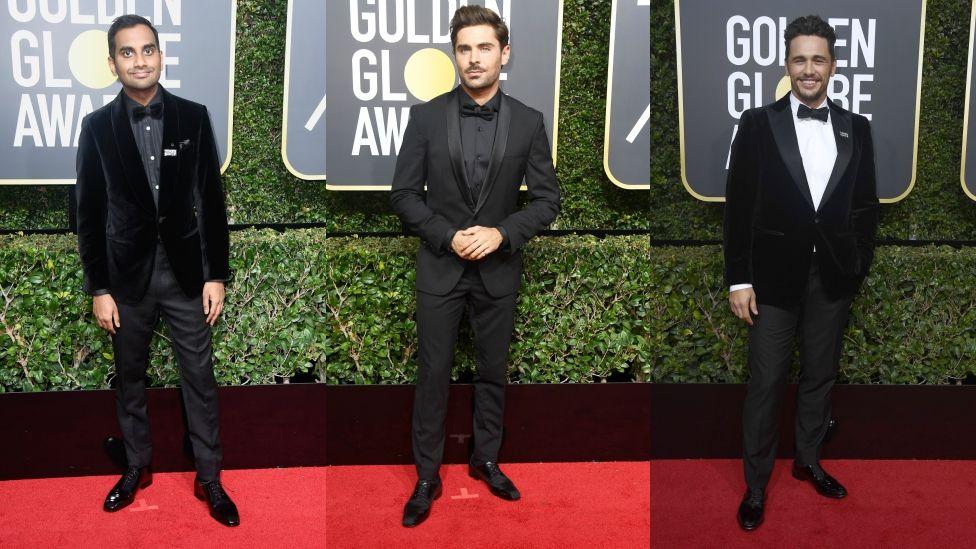 Aziz Ansari, Zac Efron and James Franco