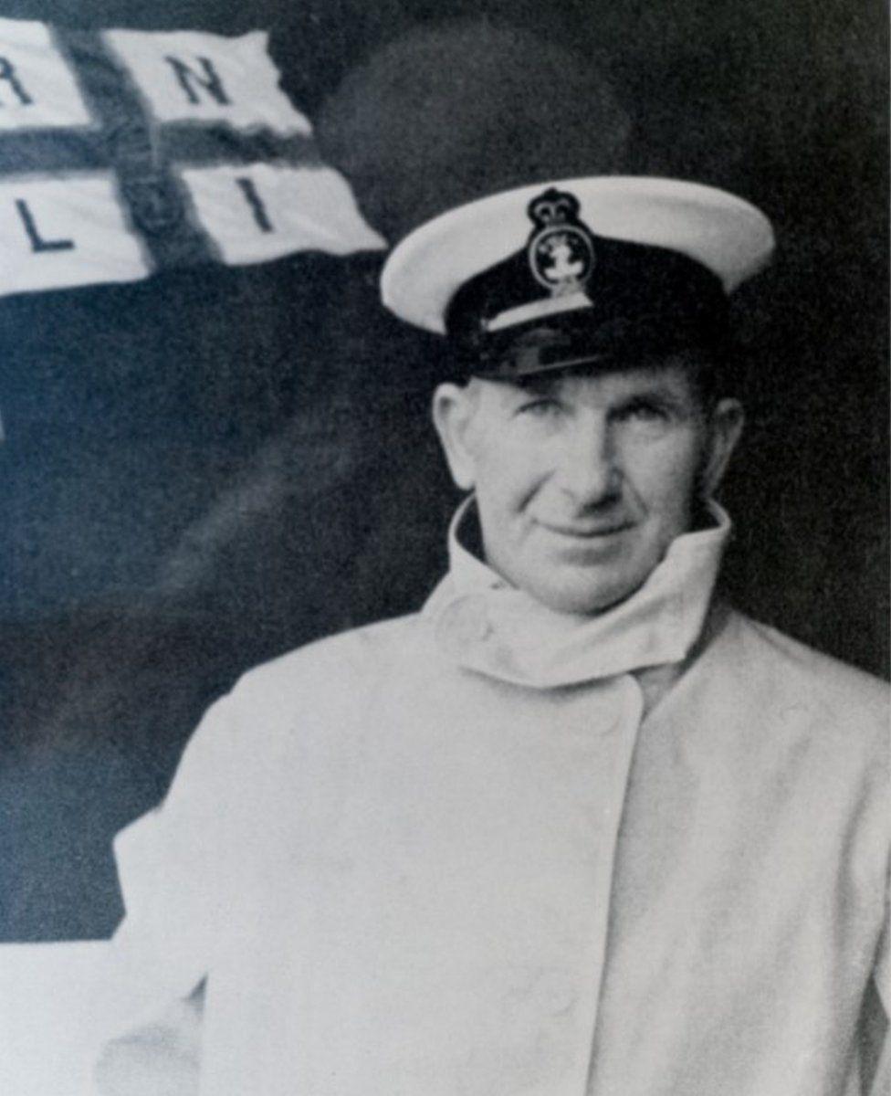 Coxswain Daniel Kirkpatrick