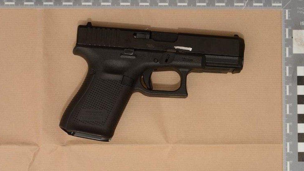 Glock semi-automatic pistol