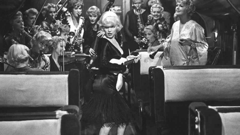 Marilyn Monroe in 1959's Some Like It Hot