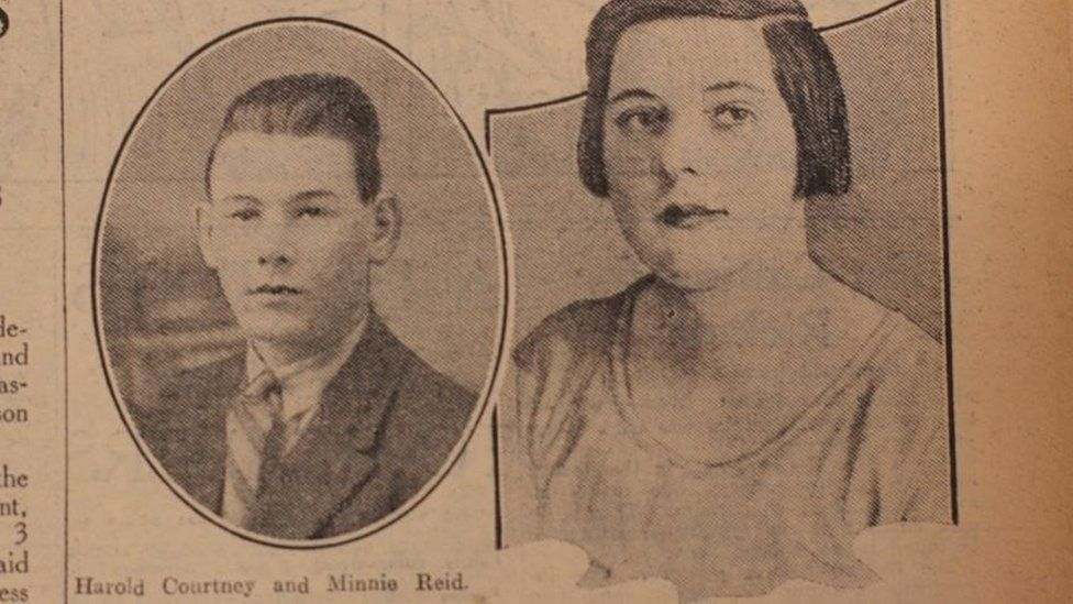 Harold Courtney and Minnie Reid