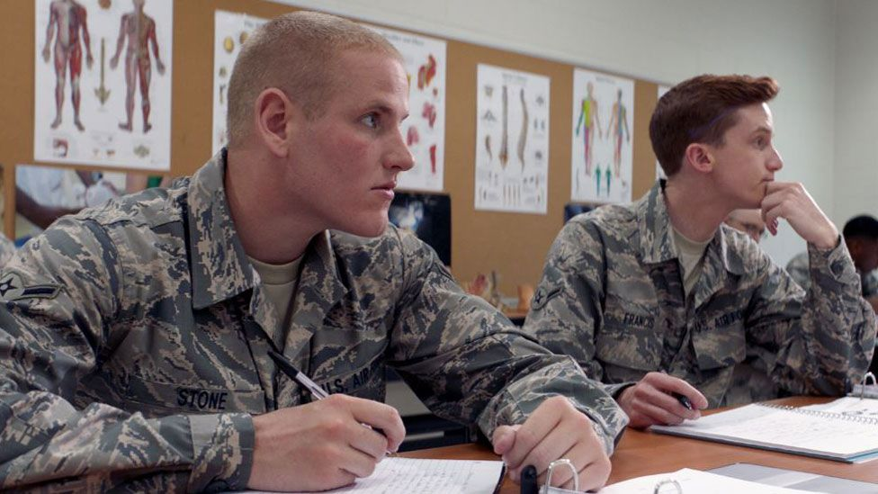 Spencer Stone in the army