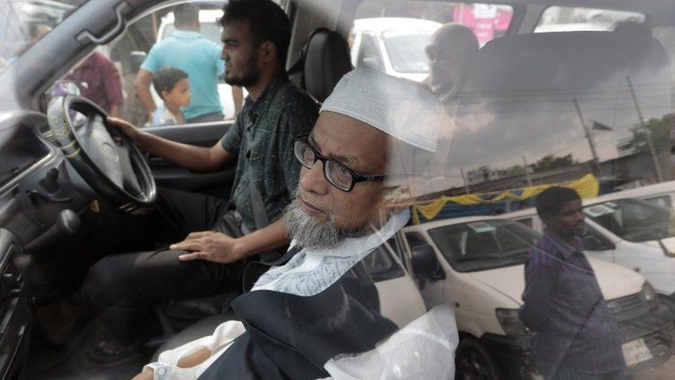 Mir Quasem Ali's relatives arrive at Kashimpur Central Jail to visit him ahead of his execution (03 September 2016)
