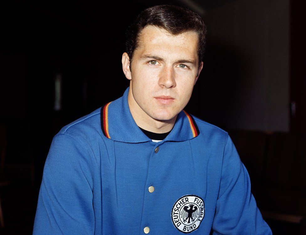 Franz Beckenbauer of West Germany at the 1966 World Cup