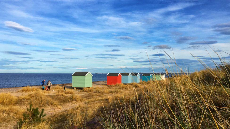 Sunshine on Moray coast
