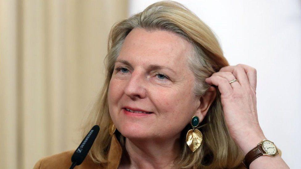 Karin Kneissl, 12 Mar 19