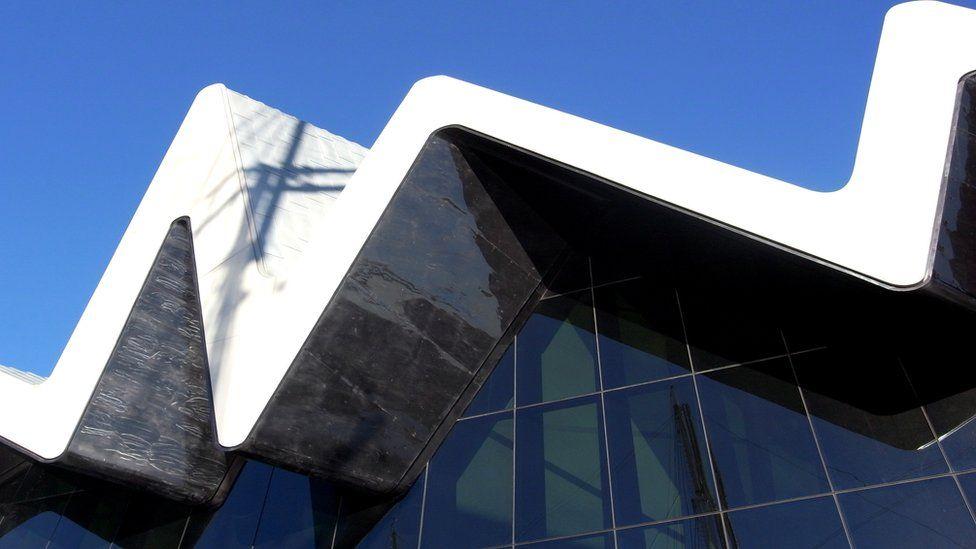 Riverside Transport Museum, Glasgow, Scotland.