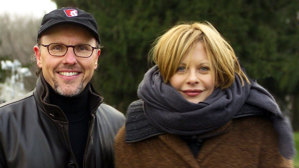 David McCourt and Meg Ryan