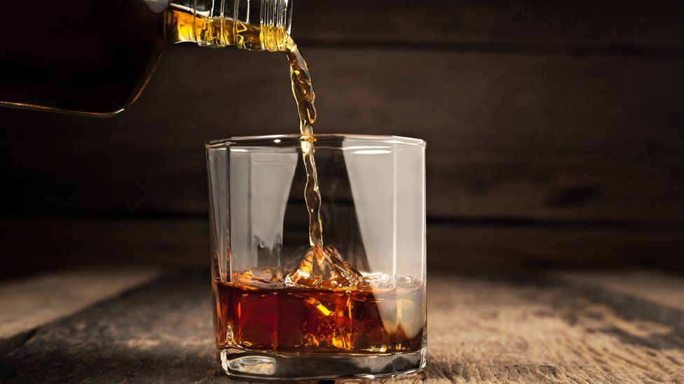 Whisky drink