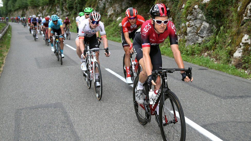 Geraint Thomas leads from the front on Stage 7 of the 2019 Tour de France