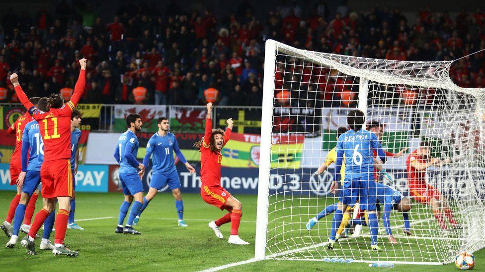 Azerbaijan v Cymru, 16 Tachwedd 2019