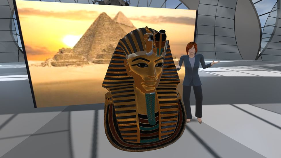 Graphic from VR content of Egypt lecture