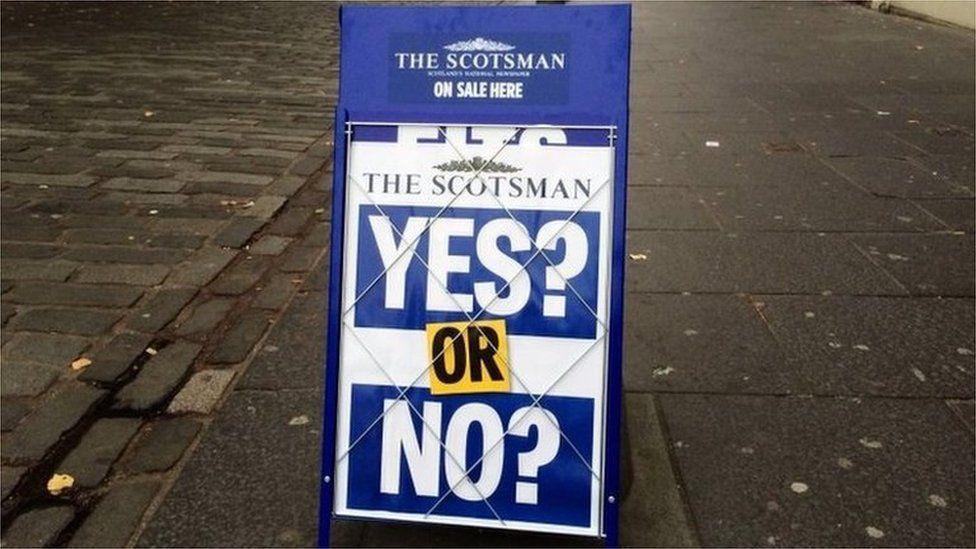 Scotsman billboard