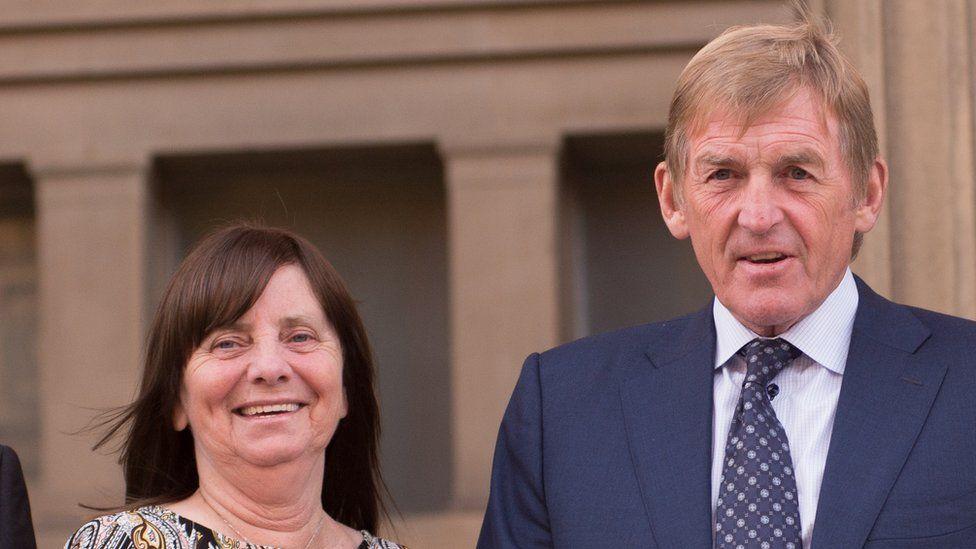 Margaret Aspinall and Sir Kenny Dalglish