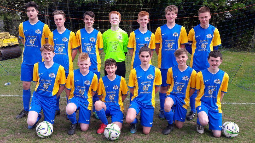 Under-15s team