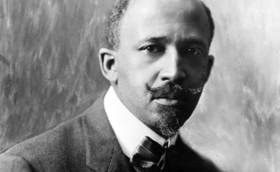 WEB Du Bois pictured in 1918