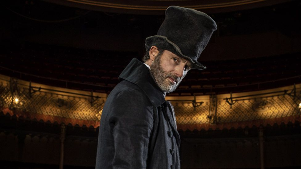 Andrew Lincoln as Scrooge